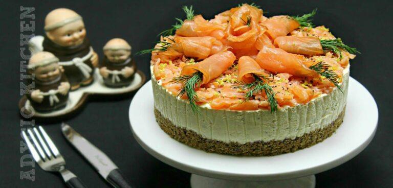 Tort aperitiv cu somon reteta video