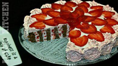 Photo of Tort cu capsuni si blat spiralat