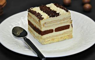 Tort de biscuiti cu frisca adygio kitchen