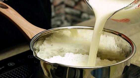 lapte condensat reteta rapida lapte cu zahar pudra