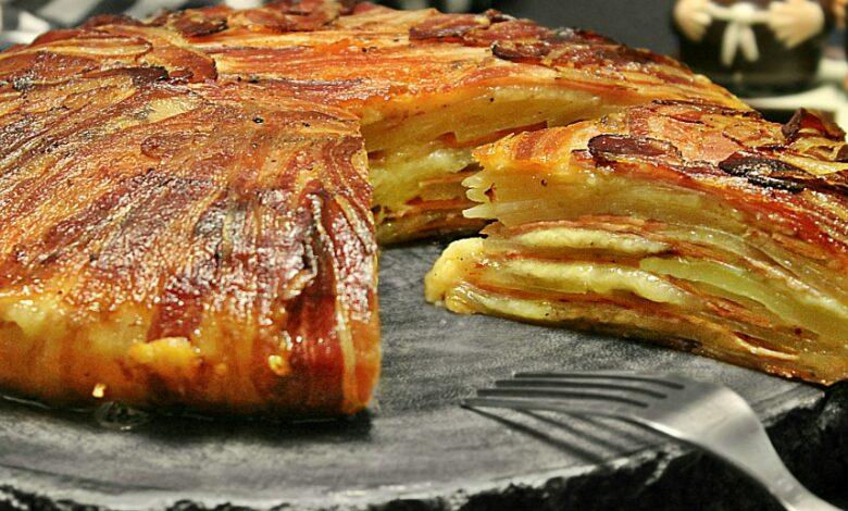 Cartofi la cuptor inveliti in bacon adygio kitchen