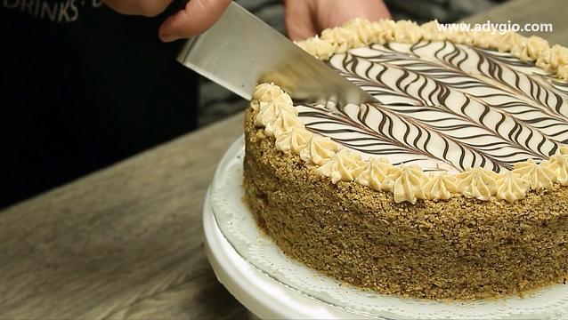 Tort Esterhazy cu nuca taiat