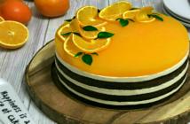 Tort Fanta cu suc de portocale adygio kitchen