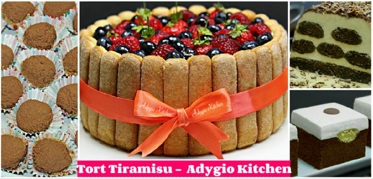 Tort Tiramisu 6 cele mai bune retete