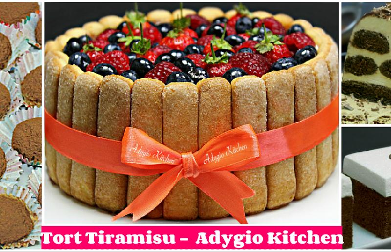 Tort Tiramisu 6 retete de tiramisu adygio kitchen
