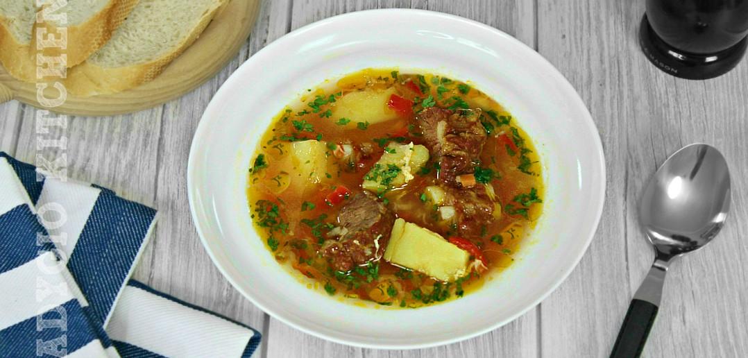 Ciorba de cartofi cu afumatura adygio kitchen