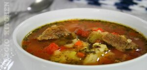 Ciorba de vacuta cu legume adygio kitchen