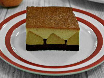 Prajitura cu mere si crema de zahar ars adygio kitchen