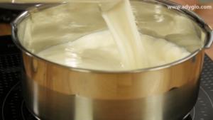 prajitura albinita fara coacere lapte