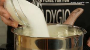 prajitura albinita fara coacere zahar