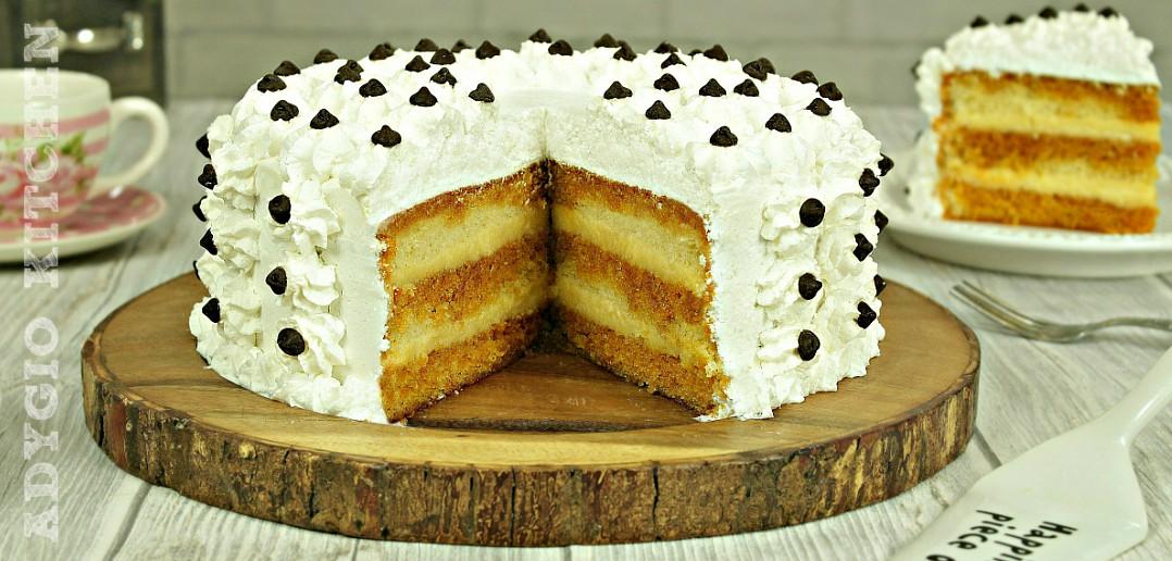 Tort cu crema de vanilie sau tort Petre Roman adygio kitchen