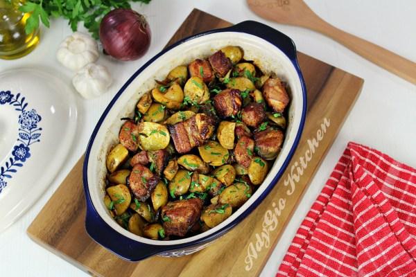 cartofi inabusiti cu afumatura la cuptor cei mai buni cartofi la cuptor
