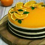 tort Fanta cu suc de portocale