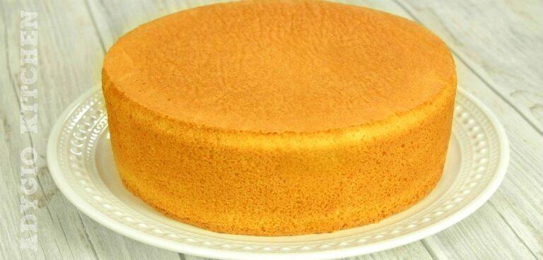 Blat de tort cu vanilie reteta simpla