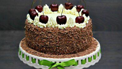 Photo of Tort Padurea Neagra cu visine sau cirese
