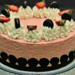 Tort fara coacere cu fructe si biscuiti Oreo adygio kitchen