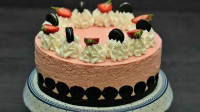 Photo of Tort fara coacere cu fructe si biscuiti Oreo