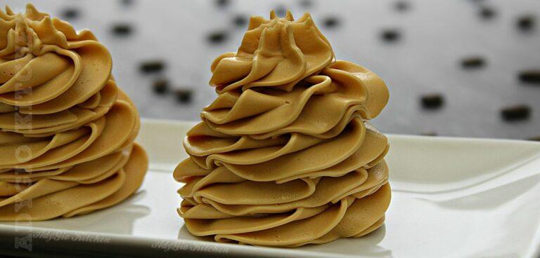 Crema pentru tort si prajituri cu unt , lapte condensat si cafea