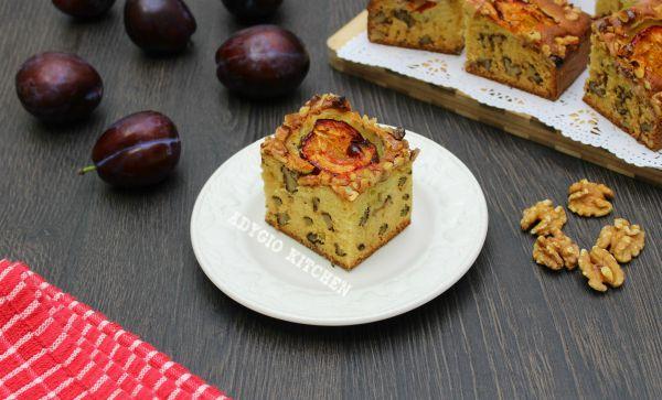 Prajitura cu prune si nuca reteta simpla