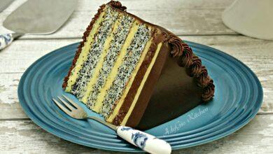 Photo of Tort Tosca cu blat cu mac si crema de vanilie