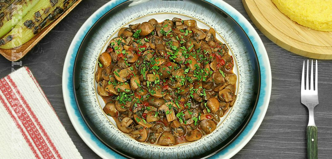 Tocanita de ciuperci reteta simpla de post adygio kitchen