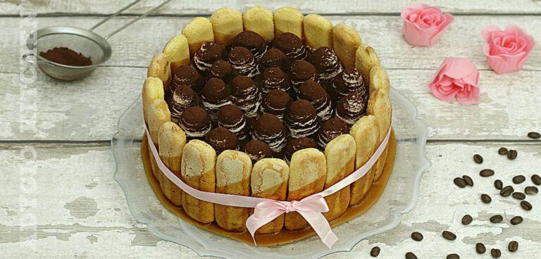 Tiramisu cu caramel si frisca reteta