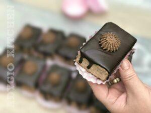 Amandine de casa fara coacere,o reteta de amandine cu biscuiti