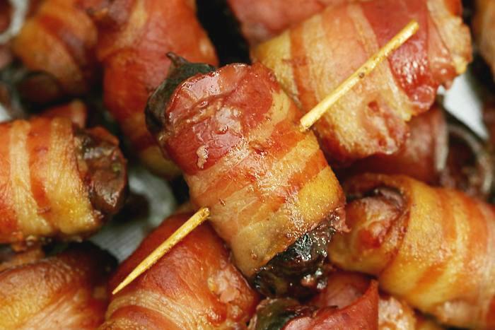 Ficatei de pui cu bacon la cuptor