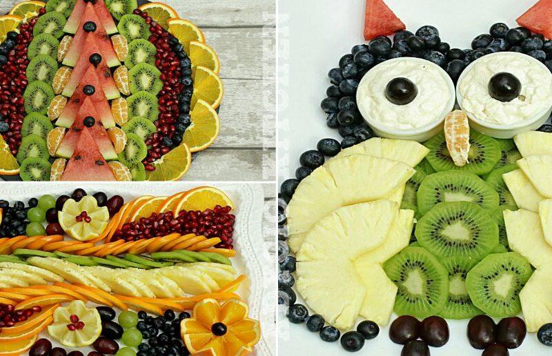 Platou festiv de fructe adygio