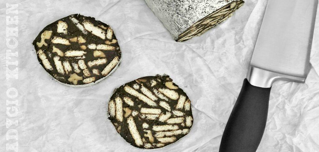 Salam de biscuiti cu mascarpone si nuca prajita adygio kitchen