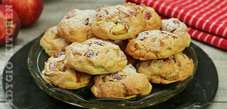 Biscuiti fragezi cu mere reteta bunicii