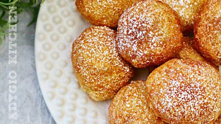 Gogosi rapide – reteta de gogosi din 2 ingrediente gata in 3 minute