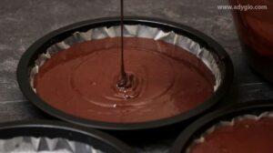 Tort de ciocolata, compozitie pentru blat in tava