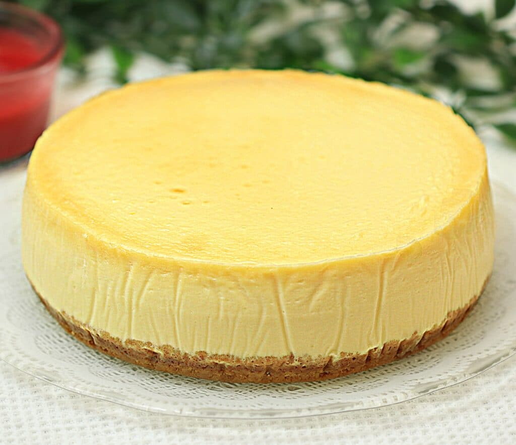 Cheesecake clasic cu vanilie, reteta de Vanilla New York Cheesecake