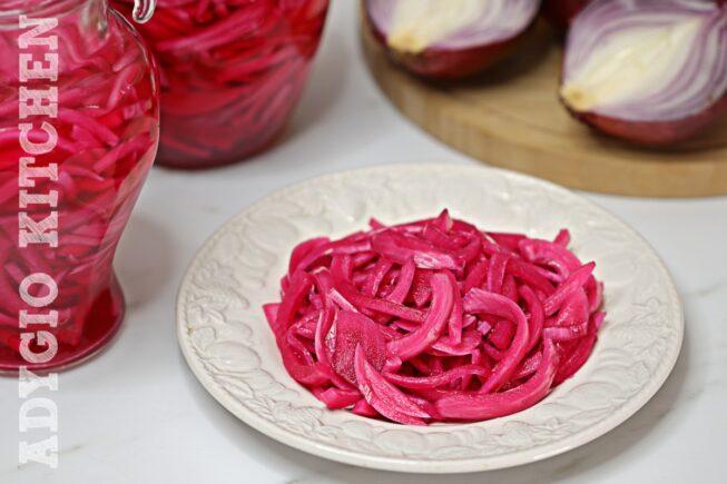 Ceapa rosie murata pentru salate si langa ciorbe adygio kitchen