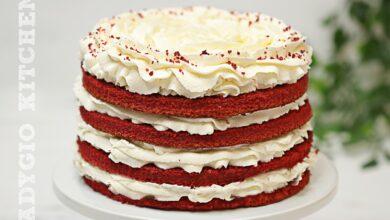 Tort red velvet reteta tort catifea rosie red velvet cake