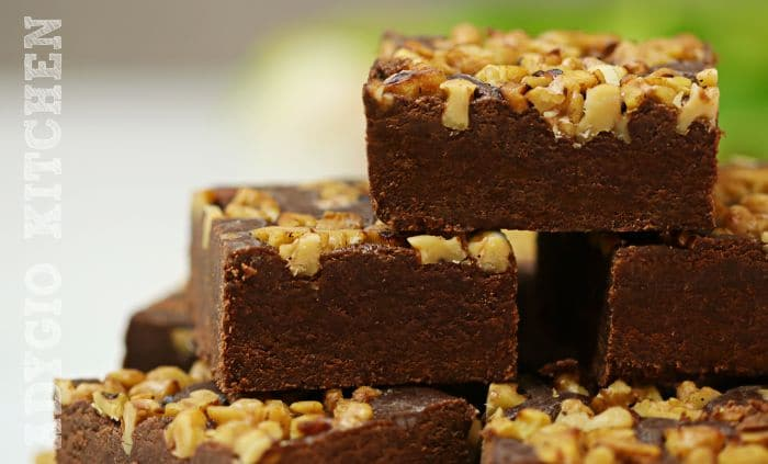 Ciocolata de casa portionata in patrate