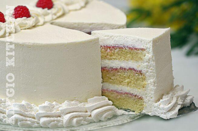 Tort cu mascarpone si frisca un tort delicios cu gem de zmeura
