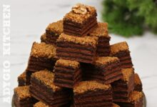 Prajitura Cenusareasa cu nuca si ciocolata